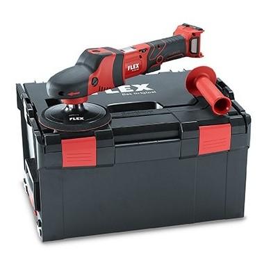 FLEX PE150 18.0-EC Accu Roterende Polijstmachine 150mm in koffer zonder accu's en oplader