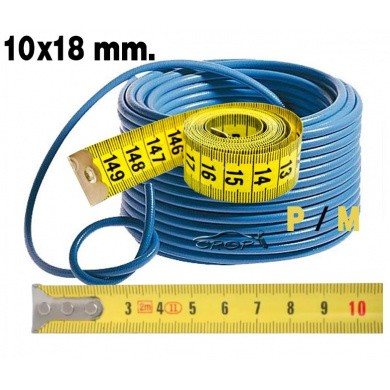 Compressed Air Hose HVLP - 10x18mm, per meter