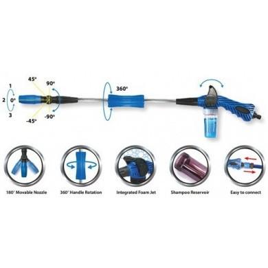 PINGI AQUABLASTER PRO Foam Gun for Shampoo - Long model