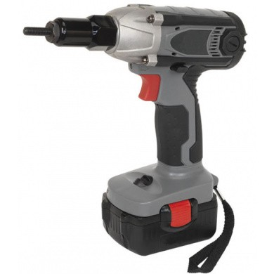 POWERHAND 18V Li-ion Cordless Nut Riveter and Impact Driver in carrying case and with accessories T76201158