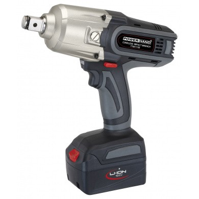 "POWERHAND 18V Li-ion 1000 Nm Cordless Impact Wrench 3/4"" in Case T76811358"