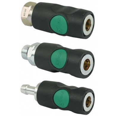 Prevost ESI Quick Coupling 7mm - Green push button