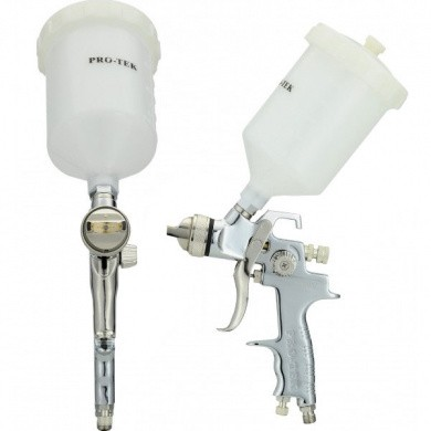 PRO-TEK 2550 HVLP Mini Spot Repair Top Cup Paint Spray Gun