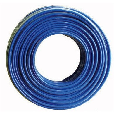 PRO-TEK Dual Air and Paint Hose Set with Couplings for Pressure Vessel - 7.5 meters