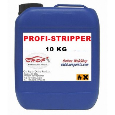1K Liquid Gel Paint-Remover / Profi Stripper - Extra Powerful, 10 kg
