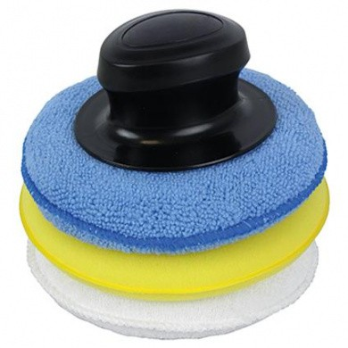 CSF Microvezel Wax Applicator Pads - 2 stuks