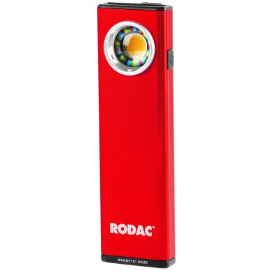 RODAC RALA950 Rechargeable LED-lamp 380 lumen with CRI95 color rendering