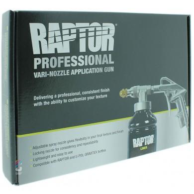 Raptor Liner Spuitpistool - Variabel Textuur
