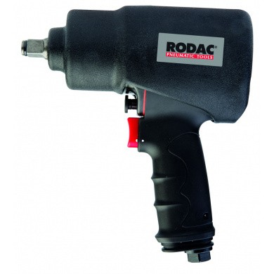 RODAC RC2754 Impact Wrench Twin Hammer with Protection Cover - 1/2""