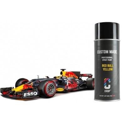 Red Bull GEEL Lak in Spuitbus - Formule 1