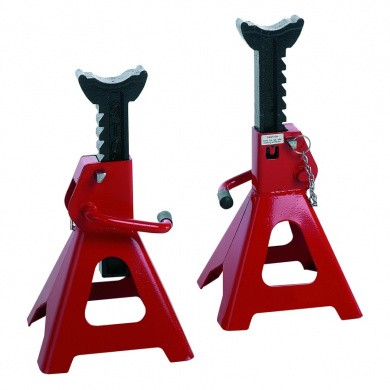 RODAC TLGSC12 Axle Stands with Safety Pin Set - 12000kg