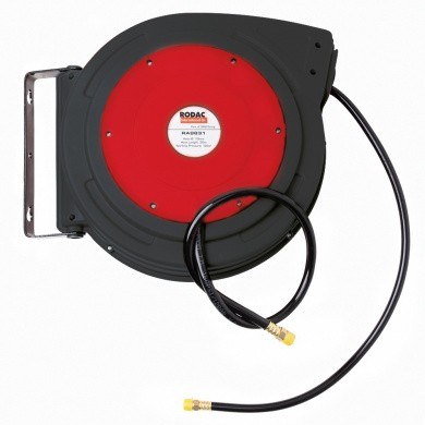 RODAC RA8831 Plastic Air Hose Reel - 20 meters