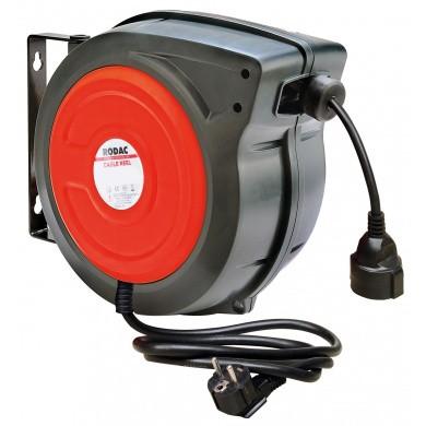 RODAC RA8894 Slanghaspel met 15 meter elektrokabel 380 Volt - 3G x 2,5m2