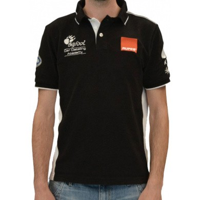 RUPES BigFoot Academy Polo Shirt Black Line