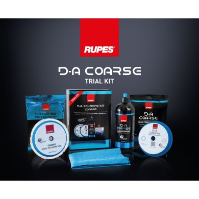 RUPES D-A COARSE Polijstset - Trial Kit