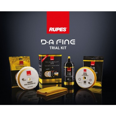 RUPES D-A FINE Polijstset - Trial Kit