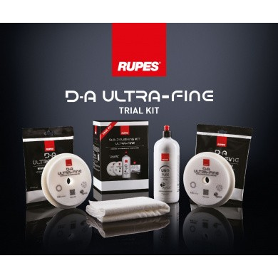 RUPES D-A ULTRAFINE Polijstset - Trial Kit