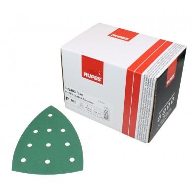 RUPES HQ400 Delta Polyester Schuurpapier met 10 gaten - 100 stuks