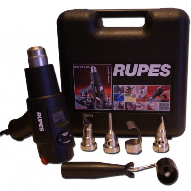 RUPES GTV20 Hot Air Gun with LCD-Screen and Digital Controller in Suitcase