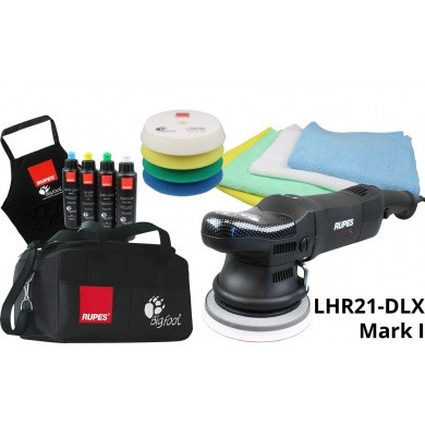RUPES LHR21ES-DLX BigFoot Polijstmachine 150mm - Deluxe Set