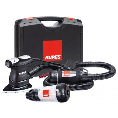 RUPES LS71T and LS71TE DELTA Flat Sander with Dust Extraction -  2 meter Hose, Belt Holder and Additional Venturi