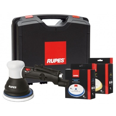RUPES LTA125 BigFoot Polijstmachine Kit - 125mm Pneumatisch