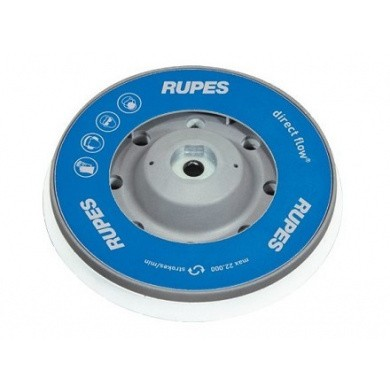 RUPES 980.027N Backing Pad for RUPES LHR15 and LHR12E Polisher - 125mm, Type Grey