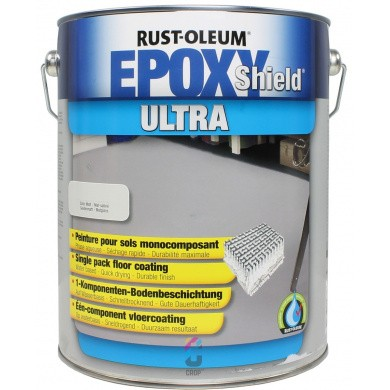 Rust-Oleum EPOXYSHIELD ULTRA Vloercoating Sneldrogend - 5 liter
