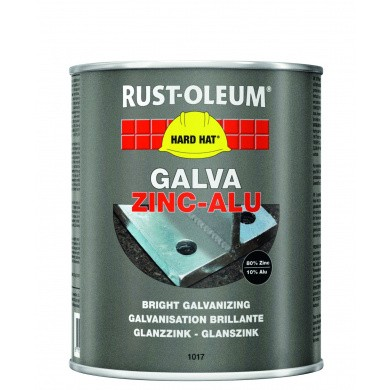 Rust-Oleum Galva Zinc-Alu blik 1kg - kwastversie