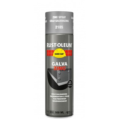 Rust-Oleum 2185 Galva Zinc Coating in 500ml aerosol