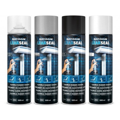 Rust-Oleum LeakSeal 500ml Aerosol - Seals leaks and cracks