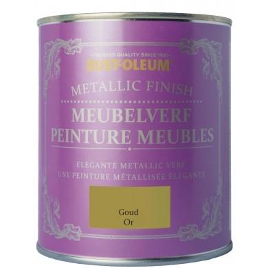 Rust-Oleum Meubelverf Metallic Goud in Blik