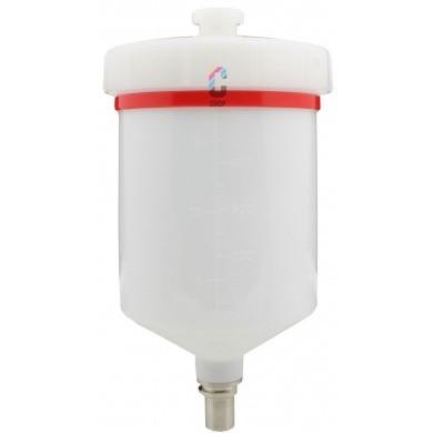SATAjet Plastic Cup QCC 0,6 l