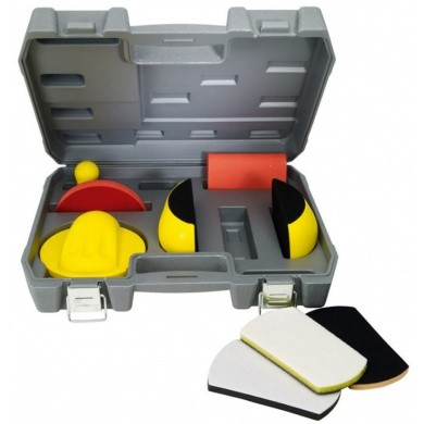 Velcro Sanding Blocks Set - 9 pieces