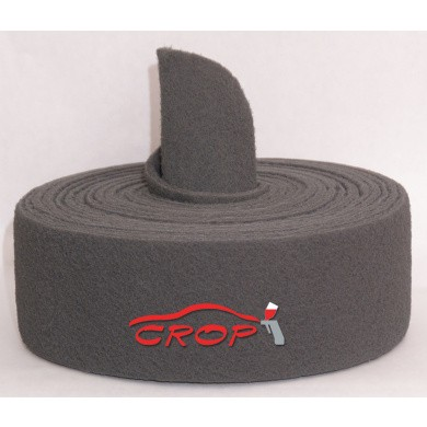 FINIXA Schuurvlies Ultra-Fijn Grijs 115mm op rol