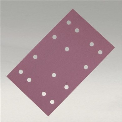 SIASPEED Sanding Sheets with 18 Holes - 115x228mm, 100 pieces