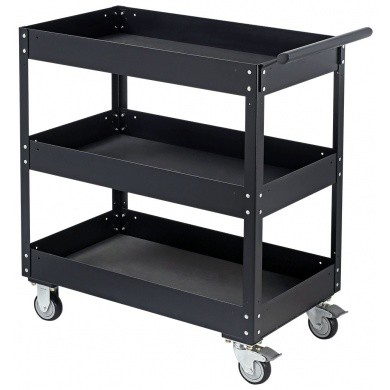 SONIC Service Cart - Powder-coated Black