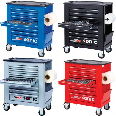 SONIC S10 Filled Tool Trolley