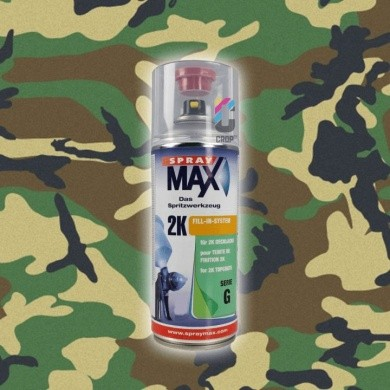 2K Camouflage Paint in Aerosol 400ml