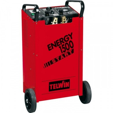 TELWIN ENERGY 1500 START Mobile Battery Charger with Start Booster 1700 Amp