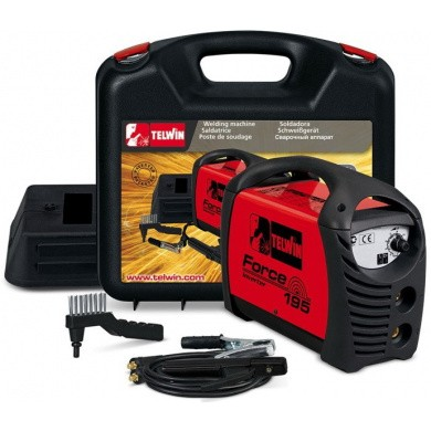 TELWIN FORCE 195 MMA-Electrode Welding Device - 170 Ampere