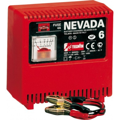 TELWIN NEVADA 6 Draagbare electrische acculader 12V