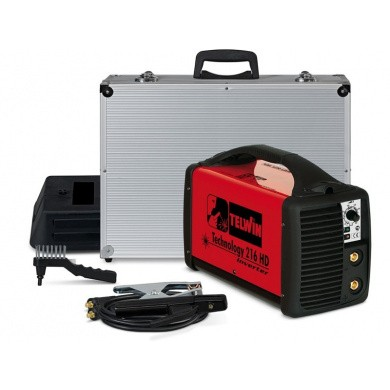 TELWIN TECHNOLOGY 216HD MMA and TIG Electrode Welding Device - 180 Ampere, 81 Volt