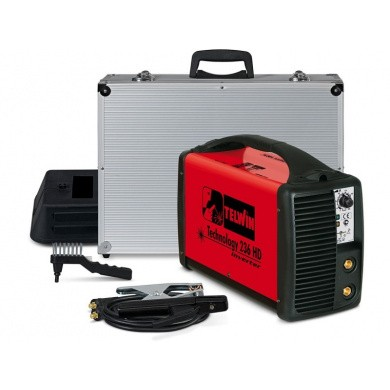 TELWIN TECHNOLOGY 236HD MMA and TIG Electrode Welding Device - 200 Ampere, 81 Volt