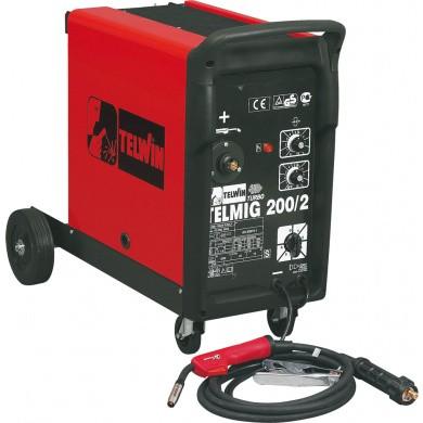 TELWIN TELMIG 200/2 Turbo MIG-MAG lasapparaat 35-220Amp