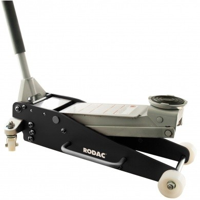 RODAC TL8125 Aluminium Garage Jack with Double Cylinder - 2500 kg