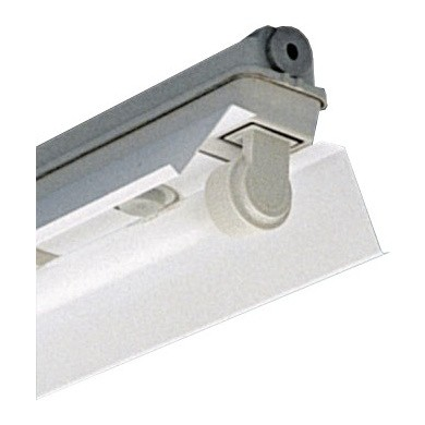 TL Construction Fixture Trough with Reflector