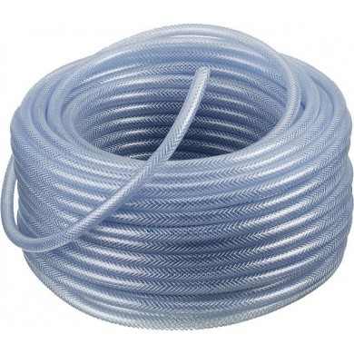 Transparent PVC Air Hoses - 50 Meter on Roll