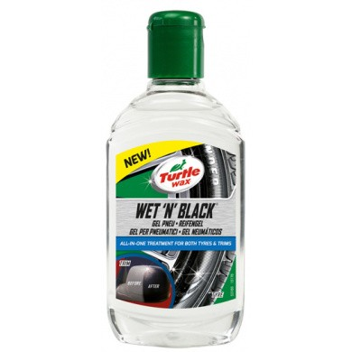 Turtle Wax Wet'N Black bandengel - 300ml