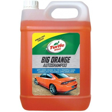 Turtle Wax Big Orange Autoshampoo - 5 liter